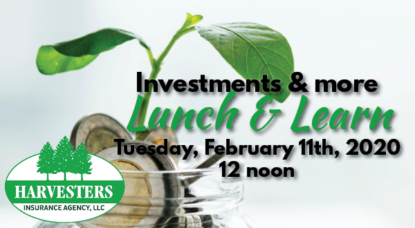 Investments Lunch & Learn